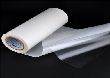 Transparent 0.05mm TPU Adhesive Film , Hot Melt Glue Film SGS ISO Listed