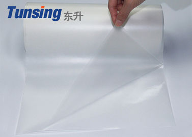 0.12mm Thickness Hot Melt Adhesive Film 50cm Width Polyolefin For Embroidery Patch Eaa