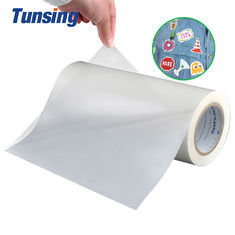 Transparent Self Adhesive Hot Melt Adhesive Sheets Embroidery Patch Textured Lamination Roll