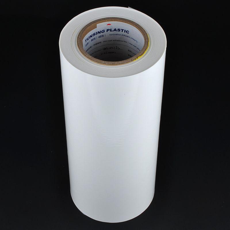 Self Adhesive Vinyl PES Hot Melt Glue Sheets For Pvc Edge