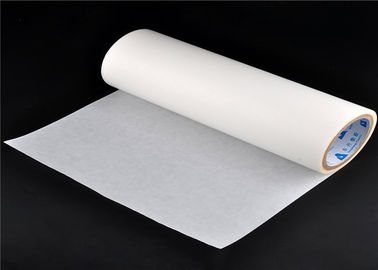 China Hardness 73 ± 2 Shore A TPU Hot Melt Adhesive Film For Bonding Polyester factory