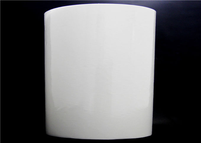 Translucent PES Hot Melt Adhesive Film Milk White For Handbags And Luggages