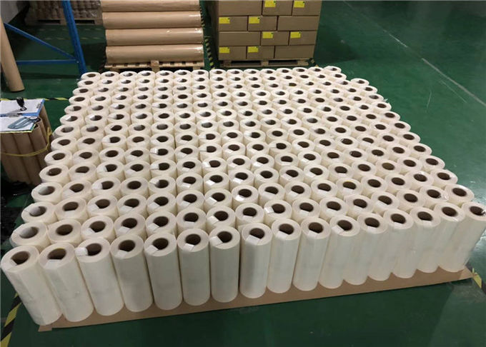 Viscous PA Polyamide Hot Melt Adhesive Film For Textile Fabric Bonding 100 Yards / Roll